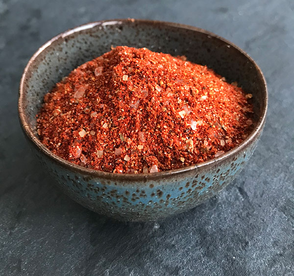 Texaanse chili dry rub