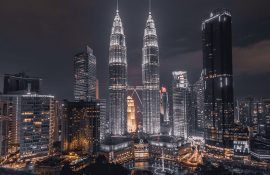 Petronas Twin Towers in Maleisië
